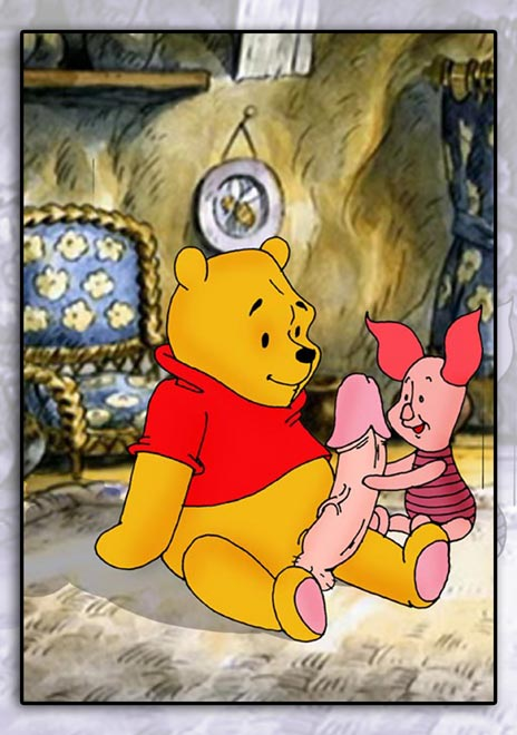 pooh winnie the Boy to girl transformation sequence