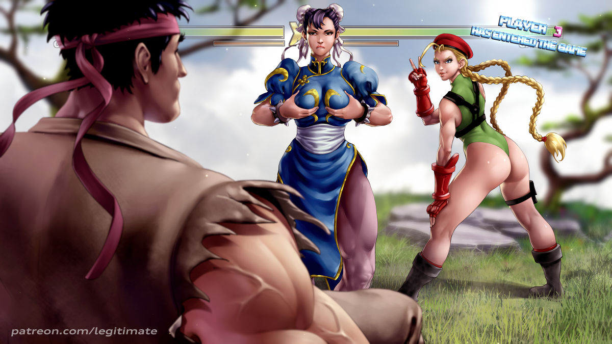 fighter street cammy Tentacle all the way through porn