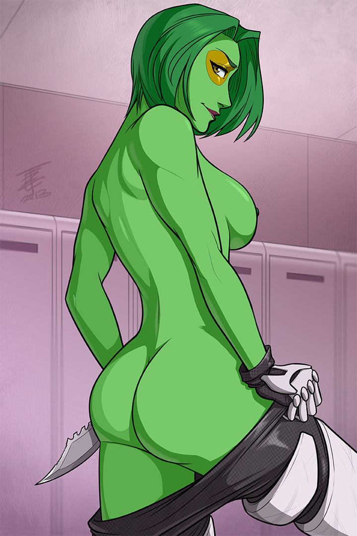 guardians gamora hentai the of galaxy Who is jules in fortnite