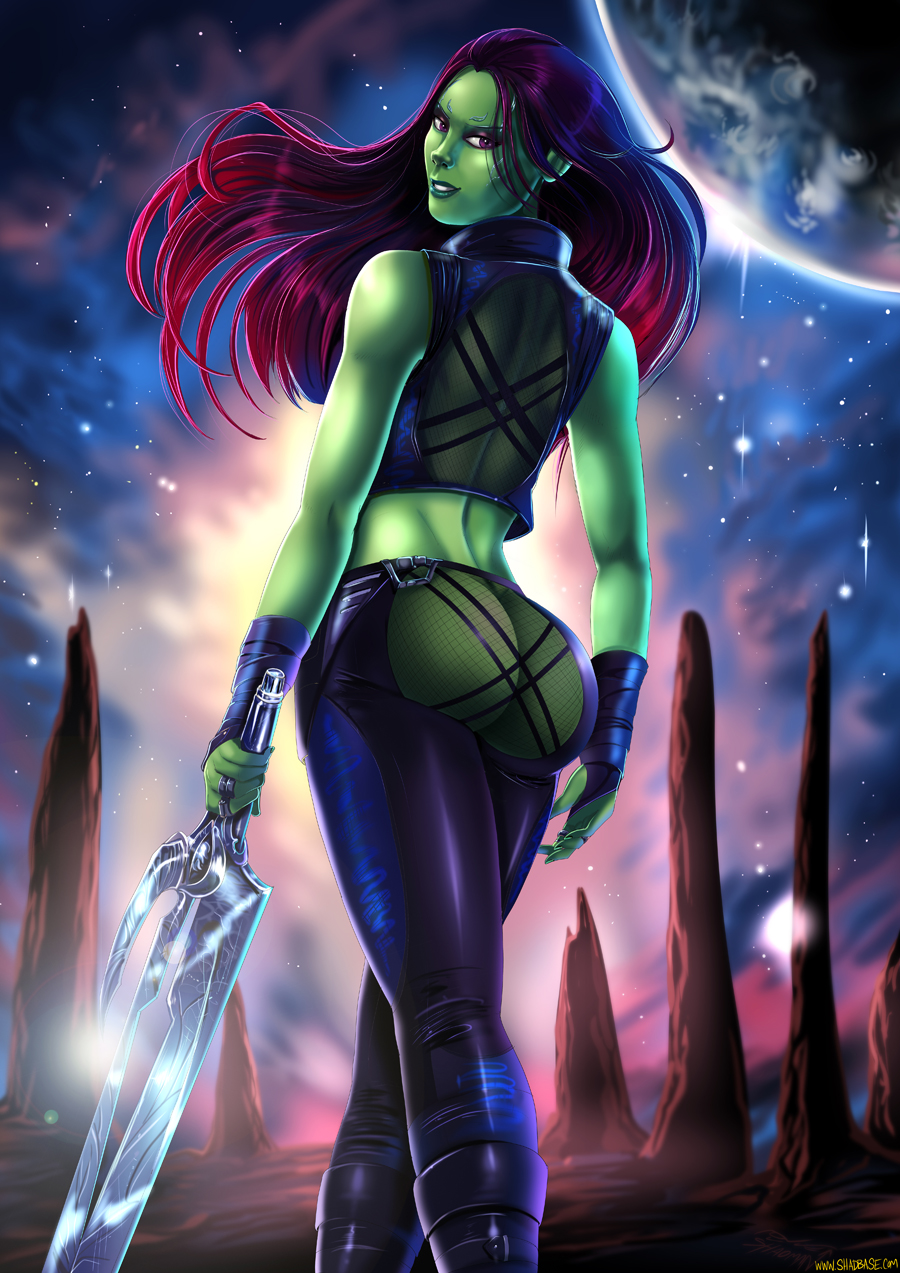 galaxy of the guardians gamora naked The last of us animation