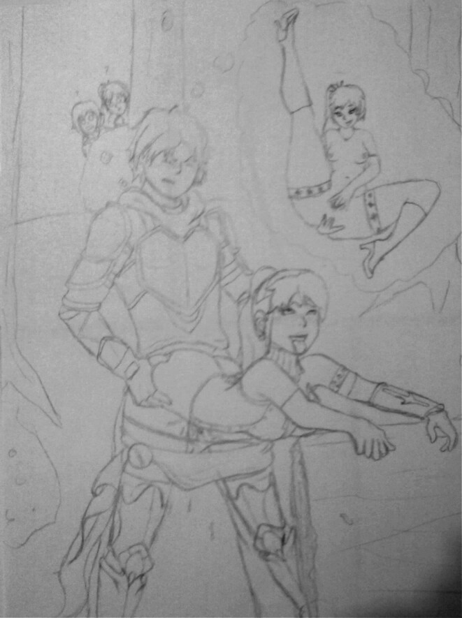 jaune lemon ruby fanfiction rwby and Linel breath of the wild
