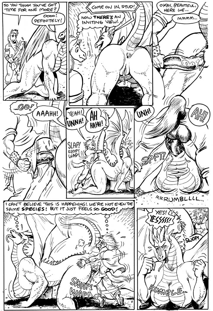 porn comic be here there dragons Meg and chris griffin porn