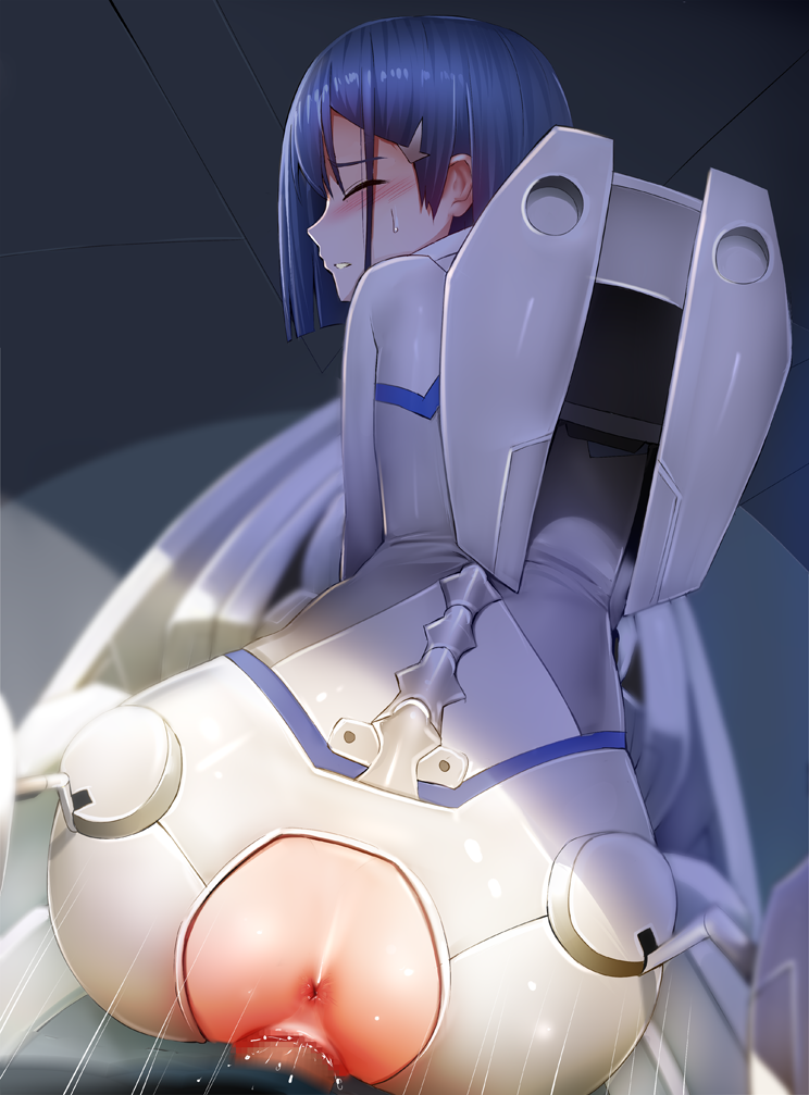 in from the darling franxx 002 Girls x battle