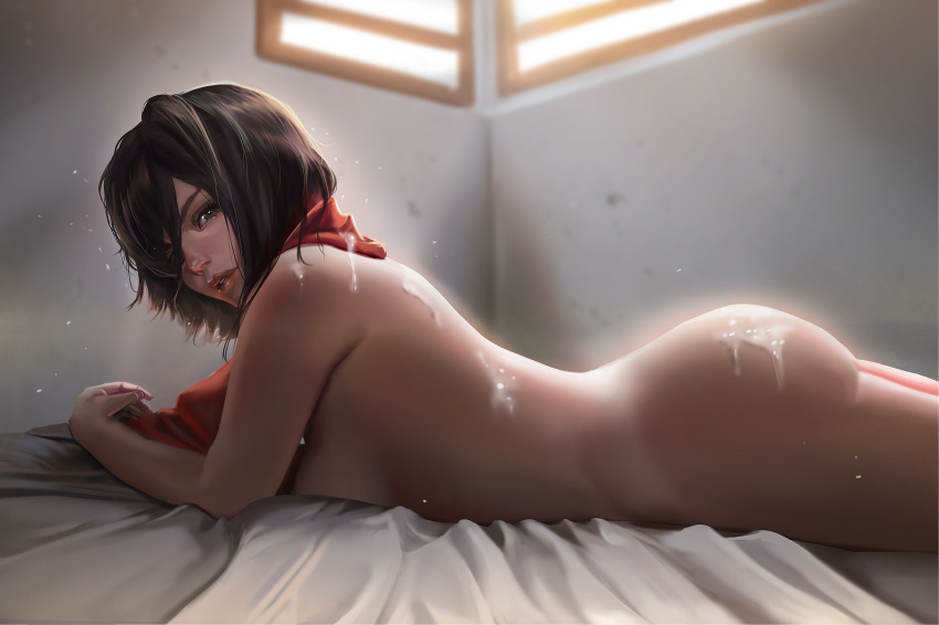 nude on attack mikasa titan Panty and stocking transformation quote