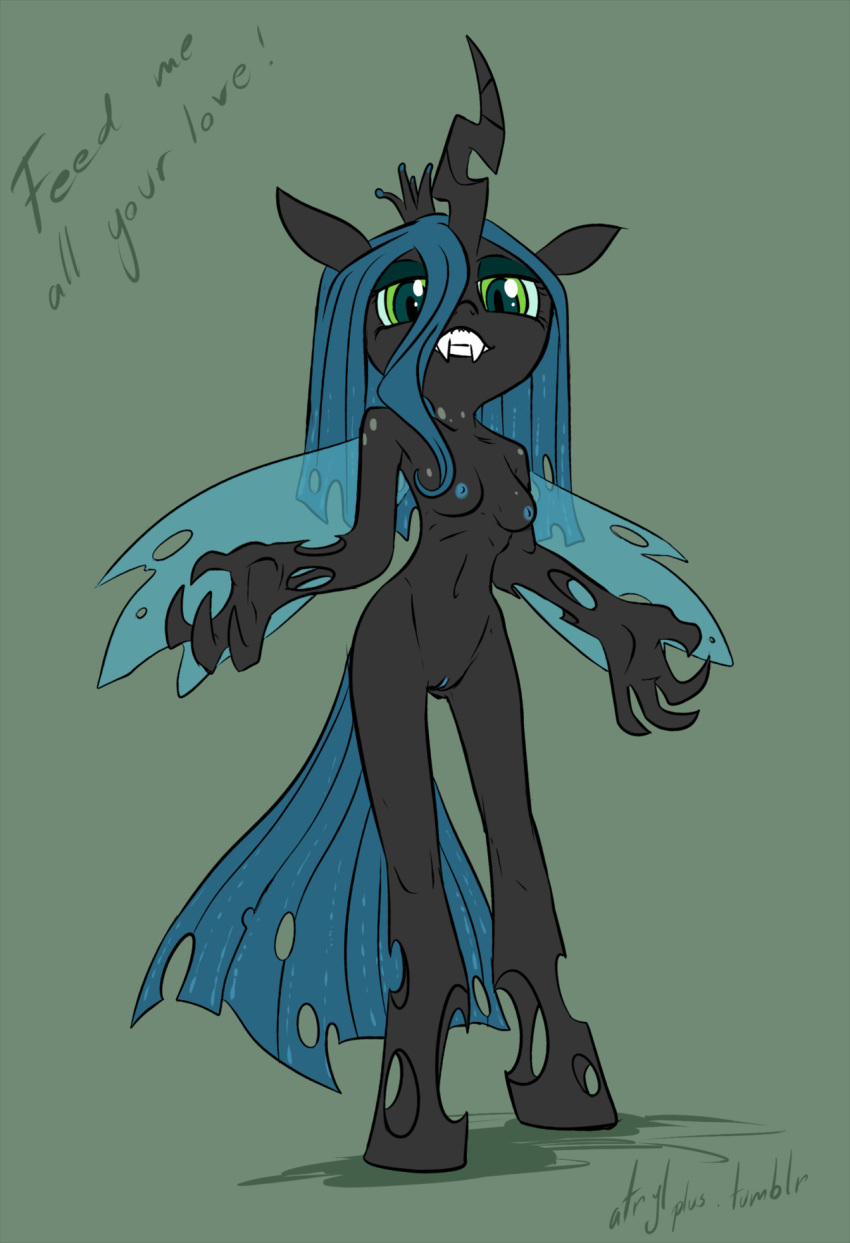 sombra king chrysalis queen x 5 nights at freddy's animation